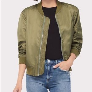 GOOD AMERICAN bomber jacket